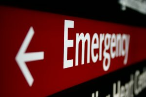 Emergency Sign Healthcare Law